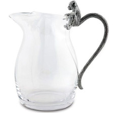 Monkey Glass Pitcher | Vagabond House | C450M