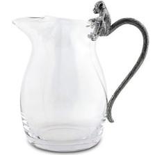 Monkey Glass Pitcher | Vagabond House | C450M