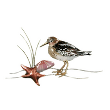 Bovano Sandpiper Starfish and Clam Enameled Copper Wall Art | W320A