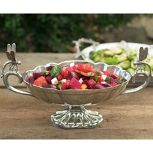 Pewter Dragonfly Centerpiece Bowl | Vagabond House | G112D