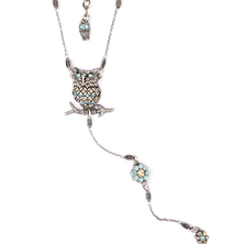 """Owl Love You"" Owl Y Necklace 