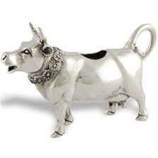 Pewter Cow Creamer | Vagabond House | VHCG117M