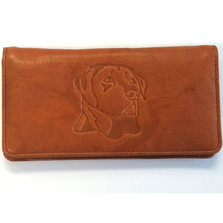 Labrador Leather Checkbook Cover | RICGM152-050D