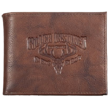 "Deer Skull Leather Bifold Wallet ""Killer Instinct"""