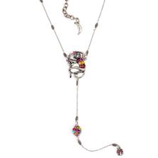 """Monkey Business"" Monkey Y Necklace  | Nature Jewelry | NK-9707-BM"