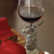 Elk Red Wine Glass | Vagabond House | G1443T