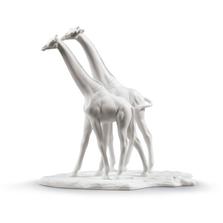 White Giraffes Porcelain Figurine | Lladro | 01009296
