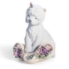 "Dog Porcelain Figurine ""Playful Character"" | Lladro | 01008207"