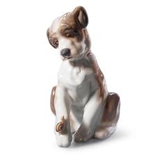 "Dog Porcelain Figurine ""New Friend"" | Lladro | 01006211"
