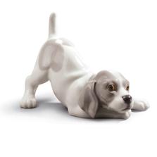 "Dog Porcelain Figurine ""Playful Puppy"" | Lladro | 01009135"