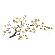 Bovano Gingko Branch Enameled Copper Wall Art | W97