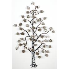Bovano Stainless Steel Small Aspen Tree Wall Art   W99SS