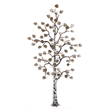 Bovano Birch Tree Stainless Steel Wall Art | W101SS