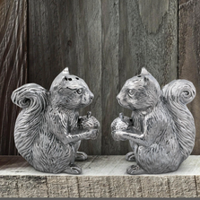 Squirrel Salt and Pepper Shakers | Arthur Court Designs | 116L16