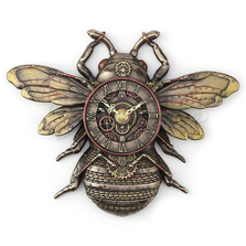 Bee Steampunk Wall Clock | Unicorn Studios | WU77408A4