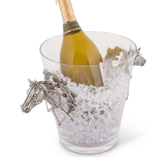 Horse Glass Ice Bucket | Vagabond House | H126HL