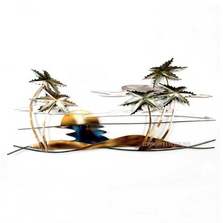 Swaying Tropical Palm Tree Wall Sculpture | TI Design | CO141