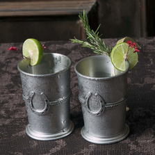 Pewter Equestrian Julep Cup | Vagabond House | H136S
