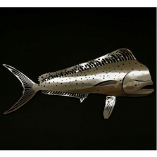 Mahi Stainless Steel Wall Art | R Mended Metals | 101205