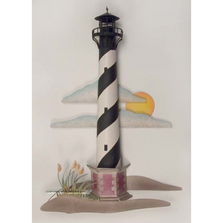 Hatteras Lighthouse Metal Replica Wall Sculpture | TI Design | CA785