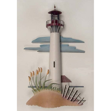 Cape May Lighthouse Replica Metal Wall Sculpture | TI Design | CA762