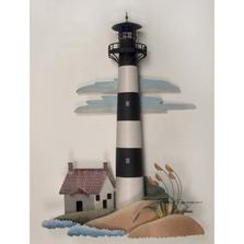 Bodie Island Lighthouse Replica Metal Wall Sculpture | TI Design | CA766