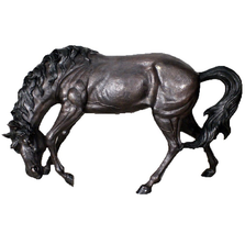 Mother Horse Bronze Outdoor Statue | Metropolitan Galleries | SRB30541