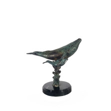 Whale and Baby Bronze Sculpture on Black Marble Base | Metropolitan Galleries | SRB60017