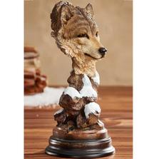 "Wolf Sculpture ""Vagabond"" | Mill Creek Studios | 6567440371"