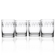 Lobster Double Old Fashioned Glass Set of 4 | Rolf Glass | 342009