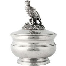 Pewter Pheasant Sauce Bowl | Vagabond House | K106P