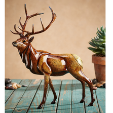 "Elk Sculpture Imago Large ""Aristocracy"" 