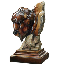 "Buffalo Sculpture Imago ""Like a Rock"" 