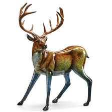 "Deer Sculpture Imago ""Suspense"" 
