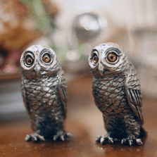 Owl Salt Pepper Shakers | Vagabond House | K116O