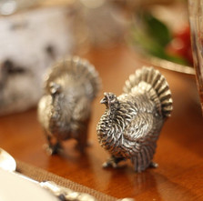 Turkey Salt Pepper Shakers | Vagabond House | K116T