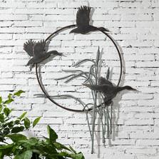 Crane Trio Garden Wall Hanging | 34907 | SPI Home