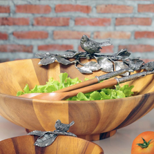 Song Bird Salad Bowl | Vagabond House | K212BL