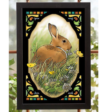Bunny Stained Glass Art | 5386498416