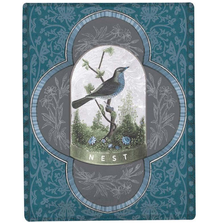 Bird Poly Throw Blanket | SABLGY