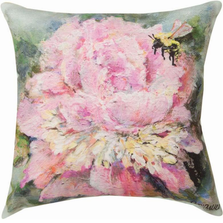 Peony Indoor Outdoor Throw Pillow | SLPENY
