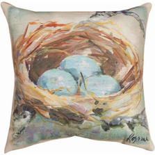 The Nest Indoor Outdoor Throw Pillow | SLTNST