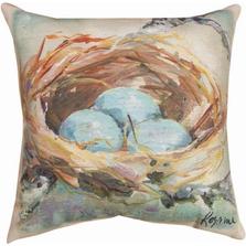 The Nest Indoor Outdoor Throw Pillow | SLTNST