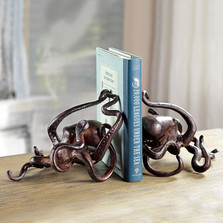 Octopus Sculptural Bookends Pair | 34546n | SPI Home