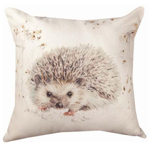 Hedgehog Indoor/Outdoor Throw Pillow | SLAWWH