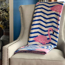 Flamingo MicroPlush Throw Blanket | 16169672