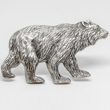 Bear Walking Grille Ornament | Grillie