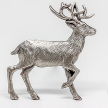 Deer Standing Grille Ornament | Grillie