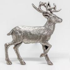 Deer Standing Grille Ornament | Grillie