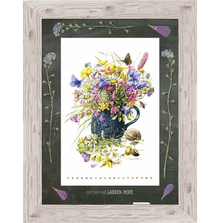 "Butterfly Framed Print ""Speckled Blues"" 